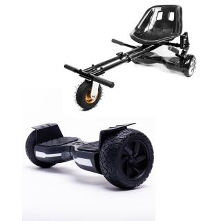 PACHET PROMO: Hoverboard Hummer Black + Hoverseat cu Suspensii