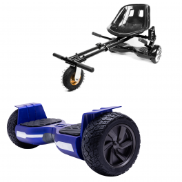 PACHET PROMO: Hoverboard Hummer Blue + Hoverseat cu Suspensii