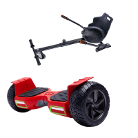 PACHET PROMO: Hoverboard Hummer Red + Hoverseat