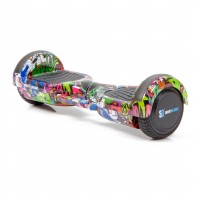 Hoverboard Regular Multicolor cu Maner