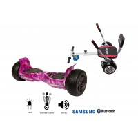 PACHET PROMO: Hoverboard Hummer Galaxy + Hoverseat cu burete