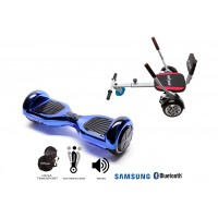 PACHET PROMO: Hoverboard Regular ElectricBlue + Hoverseat cu burete