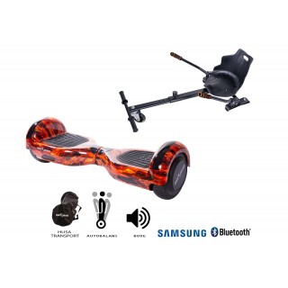 PACHET PROMO: Hoverboard Regular Flame + Hoverseat