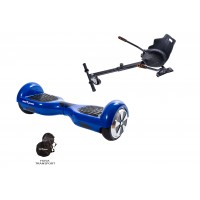 PACHET PROMO: Hoverboard Regular Blue 2+ Hoverseat