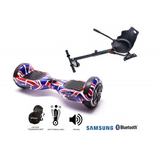 PACHET PROMO: Hoverboard Regular England + Hoverseat
