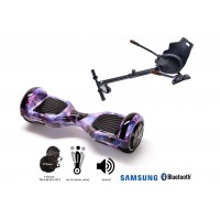 PACHET PROMO: Hoverboard Regular Galaxy + Hoverseat