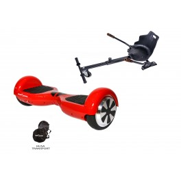 PACHET PROMO: Hoverboard Regular Red ACBK + Hoverseat