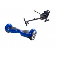 PACHET PROMO: Hoverboard Regular Blue Power + Hoverseat