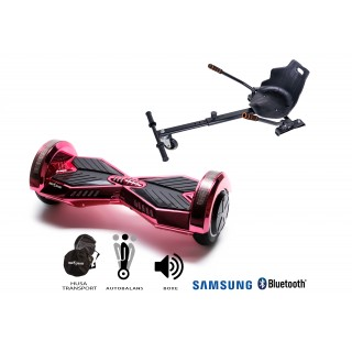 PACHET PROMO: Hoverboard Transformers ElectroPink + Hoverseat