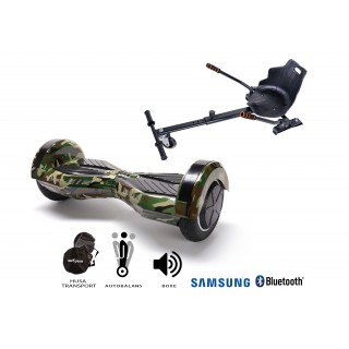 PACHET PROMO: Hoverboard Transformers Camouflage + Hoverseat