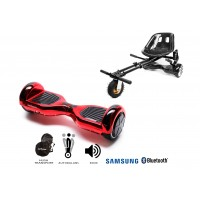 PACHET PROMO: Hoverboard Regular ElectroRed + Hoverseat cu suspensii