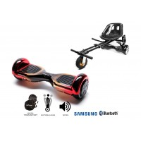 PACHET PROMO: Hoverboard Regular Sunset + Hoverseat cu suspensii