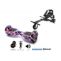 PACHET PROMO: Hoverboard Regular England + Hoverseat cu suspensii