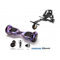 PACHET PROMO: Hoverboard Regular Galaxy + Hoverseat cu suspensii