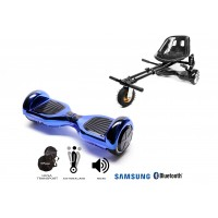 PACHET PROMO: Hoverboard Regular ElectricBlue + Hoverseat cu suspensii