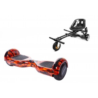 PACHET PROMO: Hoverboard Regular Flame + Hoverseat cu suspensii