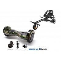 PACHET PROMO: Hoverboard Transformers Camouflage + Hoverseat cu suspensii