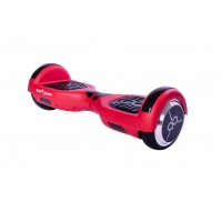 Hoverboard Regular Rosu Mate Edition Skate Flash