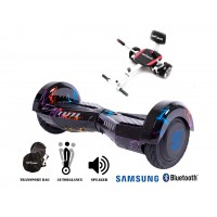 PACHET PROMO: Hoverboard Transformers Thunderstorm + Hoverseat cu burete