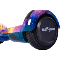 Hoverboard Regular Galaxy Orange cu Maner