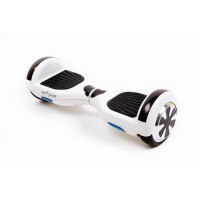 PACHET PROMO: Hoverboard Regular White Pearl + Hoverseat