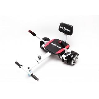 SmartBalance Hoverseat cu burete, (Hoverkart) , produs original, scaun, compatibil cu orice tip de hoverboard de 6.5inch, 8inch, 8.5inch, 10inch, reglabil