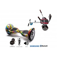 PACHET PROMO: Hoverboard OffRoad HipHop + Hoverseat cu burete