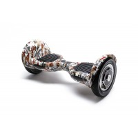 PACHET PROMO: Hoverboard OffRoad Tattoo + Hoverseat cu burete