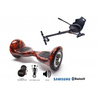 PACHET PROMO: Hoverboard OffRoad Flame + Hoverseat