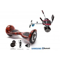 PACHET PROMO: Hoverboard OffRoad Flame + Hoverseat cu burete