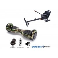 PACHET PROMO: Hoverboard Regular Camouflage + Hoverseat