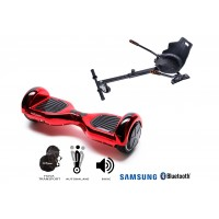 PACHET PROMO: Hoverboard Regular ElectroRed + Hoverseat