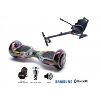 PACHET PROMO: Hoverboard Regular Multicolor + Hoverseat