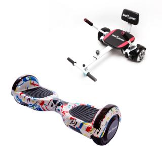 PACHET PROMO: Hoverboard Regular Splash + Hoverseat cu burete