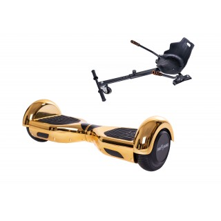 PACHET PROMO: Hoverboard Regular Iron New + Hoverseat