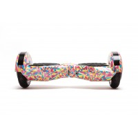 PACHET PROMO: Hoverboard Transformers Abstract + Hoverseat cu burete
