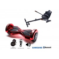 PACHET PROMO: Hoverboard Transformers ElectroRed + Hoverseat